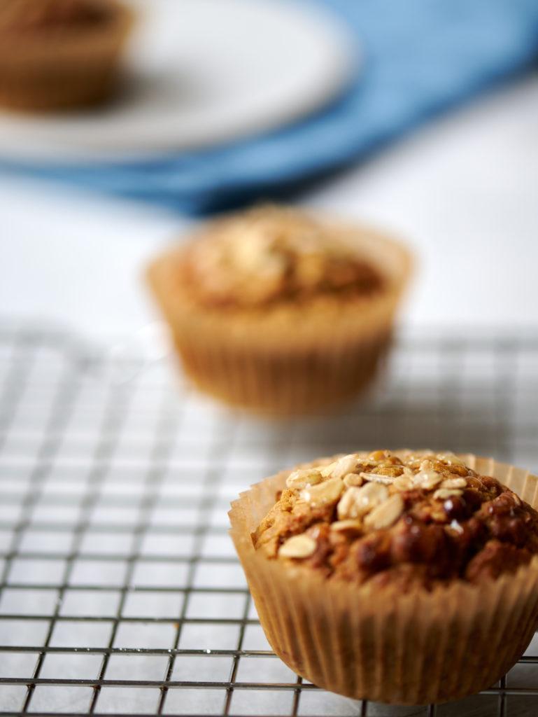 healthy gluten free bean muffins