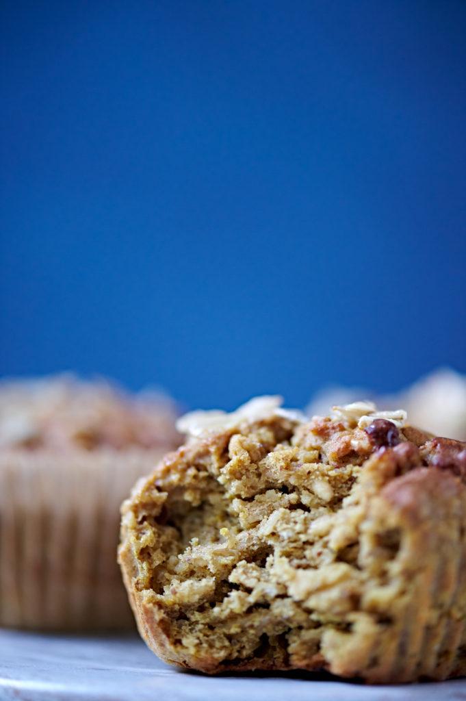Healthy Bean & Oatmeal Muffins
